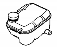 000; 2003 - 2006 Dodge Viper SRT10 Pressurized Coolant Bottle - 05043002AA