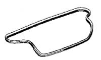 2003-2008 Dodge Viper Weatherstrip Decklid
