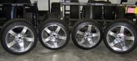 Five Spoke Wheels & Michelin PS2 Tires - FULL SET