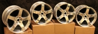 Dodge Viper OEM Five Spoke Wheel Set - 5290866AA 5290868AA