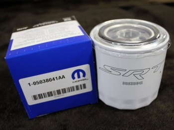 001; 2008 - 2015 Dodge SRT Viper Oil Filter - 5038041aa 5038041ab