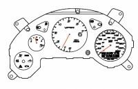 000; 2003 - 2006 Dodge Viper SRT10 Export Instrument Cluster - 05029722AC