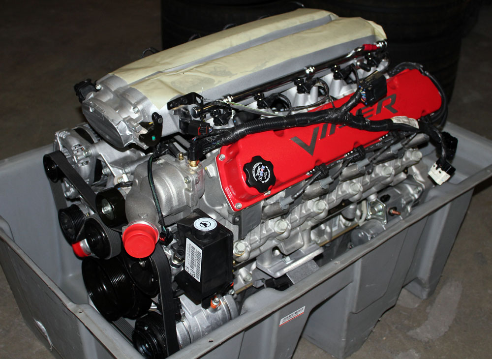 2003 2006 Dodge Viper New Crate Engine Balance Viper
