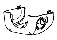 000; 2003 - 2010 Viper SRT10 Lower Steering Column Shroud - 0UC78DX9AA