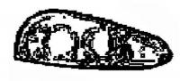 2003-2010 Dodge Viper SRT10 Right Headlight Assembly - 04865484AI