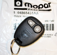008; 1996 - 2002 Dodge Viper Key Fob Transmitter - 04865431AA REMOTE