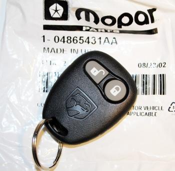 008; 1996 - 2002 Dodge Viper Key Fob Transmitter - 04865431AA REMOTE