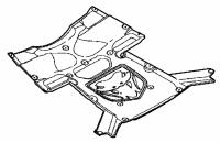 000; 2003 - 2006 Dodge Viper SRT10 Hood Silencer Pad - 04865684AC