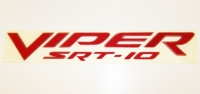 000; 2003 - 2010 Dodge Viper SRT10 Side Badging in Red - 0WN81WRRAB