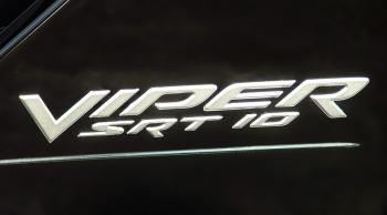 000; 2003 - 2005 Dodge Viper SRT10 Side Badging in SILVER - 0WN81VADAB EMBLEM DECAL