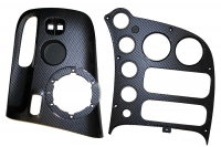 000; 2003 - 2010 Dodge Viper SRT10 Carbon Fiber Center Bezels -