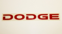 000; 1999 - 2002 Dodge Viper  Rear DODGE Decal in RED - 0GC54WRR