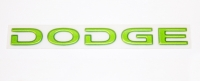 000; 2008 - 2010 Dodge Viper Rear DODGE Decal in Snakeskin Green - 0WN80GGSAC