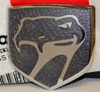 000; 2000 Dodge Viper Front Fascia Medallion in Steel Gray - 0PF0005S