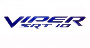 000; 2003 - 2010 Dodge Viper SRT10 Side Badging in BLUE - 0WN81SBBAC