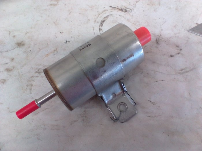 dodge viper fuel filter replacement