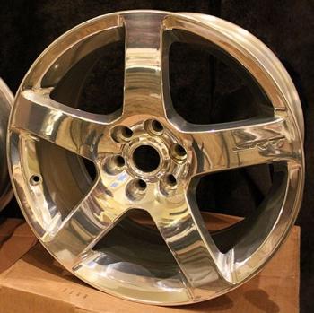 000; Dodge Viper New OEM Rear Five Spoke Wheel - 5290868AA